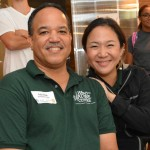 Robin Chapin, left, and Jeeyun Lee of the Hawaii Nature Center
